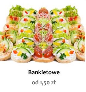 Kanapki Bankietowe Sklep Cateringowy Koryta Mięsne Na Każdą Okazję